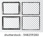 vector frames. rectangles for... | Shutterstock .eps vector #548259283