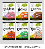 set of colorful stickers ...   Shutterstock .eps vector #548262943