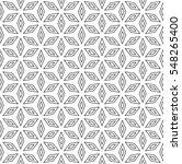 vector monochrome seamless... | Shutterstock .eps vector #548265400