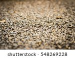Gravel Surface Is Golden Brown...