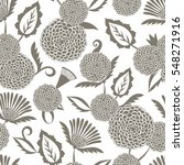 ethnic seamless pattern with... | Shutterstock .eps vector #548271916