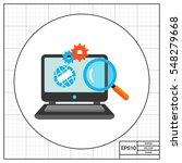 search engine optimization icon   Shutterstock .eps vector #548279668