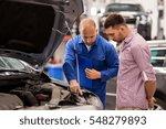 auto service  repair ... | Shutterstock . vector #548279893