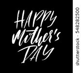 happy mother's day greeting... | Shutterstock .eps vector #548282500