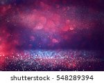 red glitter vintage lights...   Shutterstock . vector #548289394