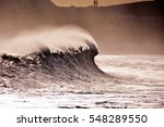 Rough Sea With Large Waves...