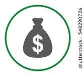 money icon vector flat design...