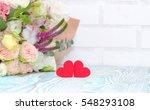 valentine's day. valentine gift.... | Shutterstock . vector #548293108