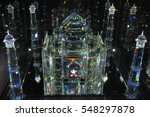 wattens  austria   july 5  2015.... | Shutterstock . vector #548297878