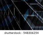windows glowing in darkness.... | Shutterstock . vector #548306254