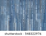 bright abstract mosaic blue... | Shutterstock . vector #548322976