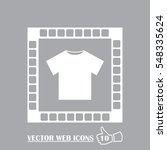 t shirt icon vector. web design ...