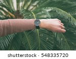 ideal fashion outfit...   Shutterstock . vector #548335720