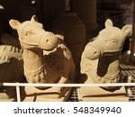 Clay Camels  Pottery As...