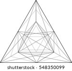 black and white vector sketch... | Shutterstock .eps vector #548350099