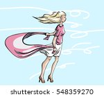 going outside and walk in the... | Shutterstock .eps vector #548359270