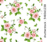 vector seamless pattern with... | Shutterstock .eps vector #548361238