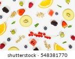 fruit background | Shutterstock . vector #548381770