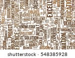 business conceptual word cloud... | Shutterstock . vector #548385928