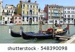 gondolas in venice | Shutterstock . vector #548390098