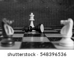 chess photographed on a... | Shutterstock . vector #548396536