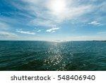 in the open tropical sea | Shutterstock . vector #548406940