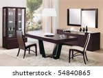 dinning room | Shutterstock . vector #54840865