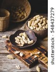 boiled peanuts | Shutterstock . vector #548437279