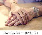 mature people romantic holding... | Shutterstock . vector #548444854