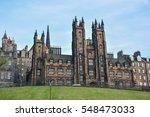 edinburgh  scotland  may  5 ... | Shutterstock . vector #548473033