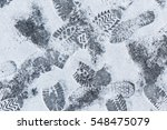 winter background with... | Shutterstock . vector #548475079