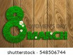 women's day design. the... | Shutterstock .eps vector #548506744