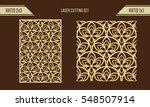 diy laser cutting set. woodcut...   Shutterstock .eps vector #548507914