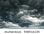 Dark Clouds In Thunderstorm Ai...