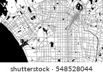 black and white scheme of los... | Shutterstock .eps vector #548528044