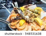 A Seafood Platter Close Up....