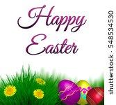 Spring Easter Background....