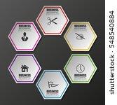information infographic... | Shutterstock .eps vector #548540884