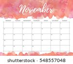 elegant watercolor bright print ... | Shutterstock . vector #548557048