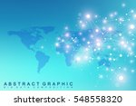 geometric graphic background... | Shutterstock .eps vector #548558320