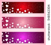 Valentine's Day Vector Banners...