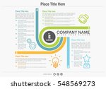 business circle infographics... | Shutterstock .eps vector #548569273