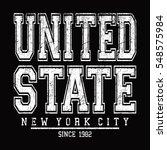 new york city  united state...   Shutterstock .eps vector #548575984