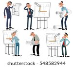 vector illustration of a six... | Shutterstock .eps vector #548582944