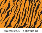 stripe animals jungle tiger fur ... | Shutterstock .eps vector #548590513