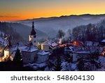Sunset At Winter In Slovakia....