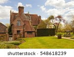 Old Red Brick English Cottage...