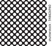 seamless black and white polka... | Shutterstock .eps vector #548626960