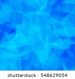 vector background from polygons ... | Shutterstock .eps vector #548629054