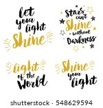 christian lettering set   let... | Shutterstock .eps vector #548629594